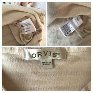 Orvis Tops - Orvis Placed- Embroidery Pullover Sweatshirt